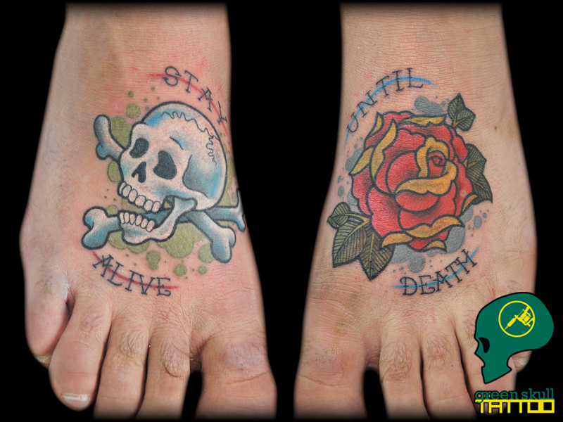 tattoo-tetovalas-1-color-skull-koponya-rose-rozsa.jpg